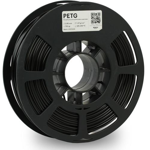 Kodak 2.85mm PETG Filament (750g, Black)