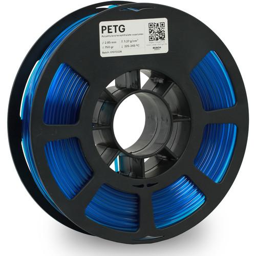 Kodak 2.85mm PETG Filament (750g, Translucent Blue)