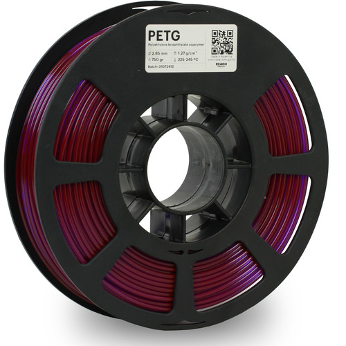 Kodak 2.85mm PETG Filament (750g, Translucent Purple)