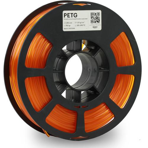 Kodak 2.85mm PETG Filament (750g, Translucent Orange)