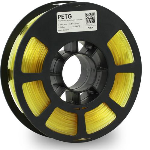 Kodak 2.85mm PETG Filament (750g, Translucent Yellow)