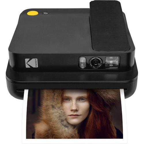 Kodak Smile Classic Instant Print Digital Camera (Black)