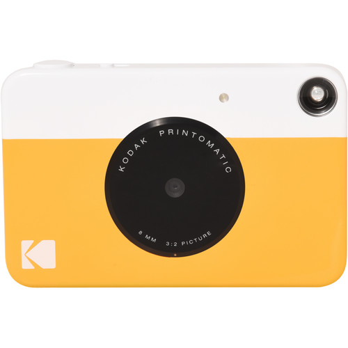 Kodak PRINTOMATIC Instant Digital Camera (Yellow) RODOMATICYL