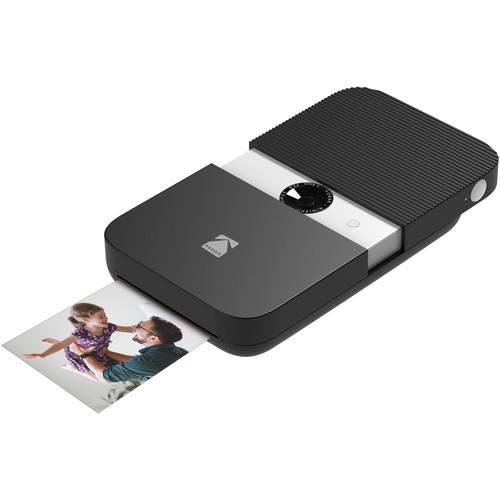 Kodak Smile Instant Print Digital Camera (Black/White)