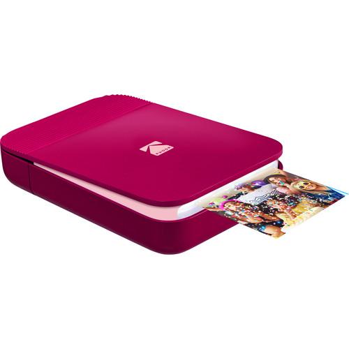 Kodak SMILE Instant Digital Printer (Red)