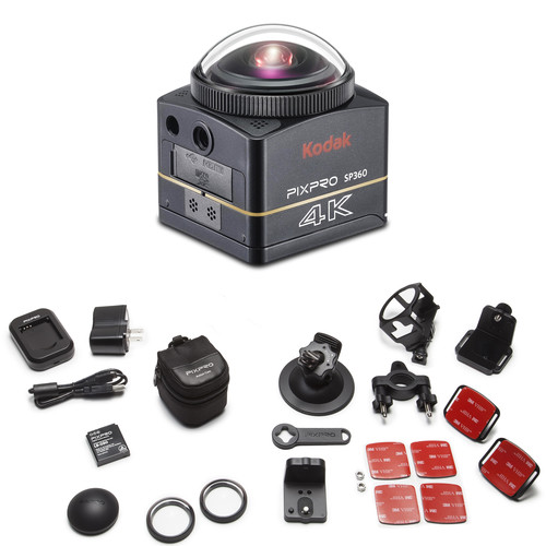 Kodak PIXPRO SP360 4K Action Camera Premier Pack