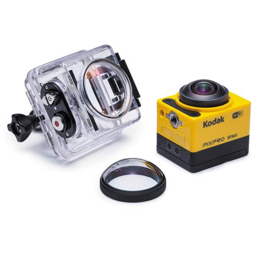 Kodak PIXPRO SP360 Action Camera with Aqua Sport Pack