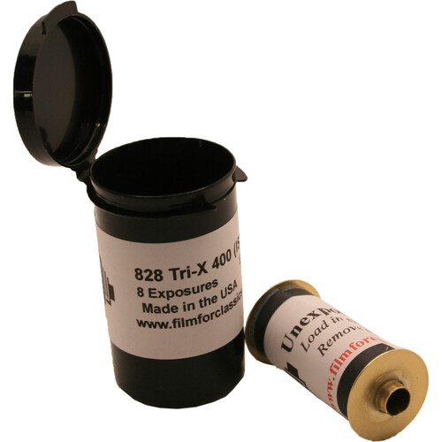 Kodak Professional Tri-X 400 Black and White Negative Film (828 Roll Film)