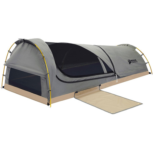 Kodiak Canvas Swag 1-Person Canvas Tent with Sleeping Pad