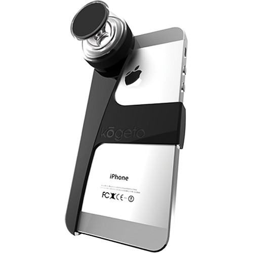 Kogeto Dot Lens for iPhone 5, 4S and 4 (Pitch Black)