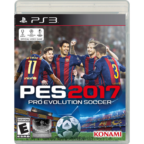 Konami Pro Evolution Soccer 2017 for PS3 Gaming Console
