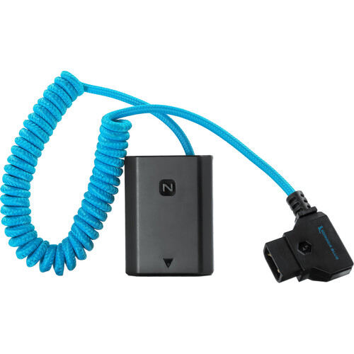 Kondor Blue D-Tap To Sony a7S III Dummy Battery NP-FZ100 Cable