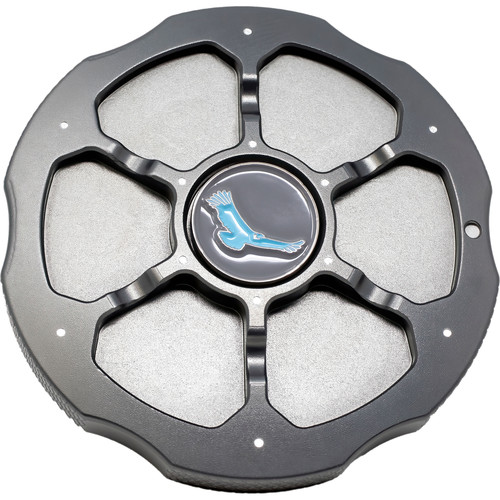 Kondor Blue Aluminum Body Cap for Sony E-Mount Cameras (Space Gray)