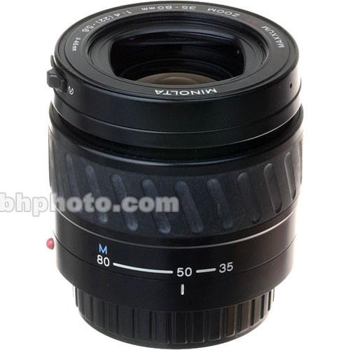 Konica Minolta Zoom Wide Angle-Telephoto 35-80mm f/4-5.6 Maxxum Autofocus Lens