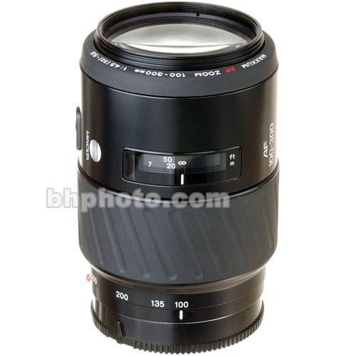 Konica Minolta Zoom Tele 100-300mm f/4.5-5.6 Maxxum Autofocus Lens