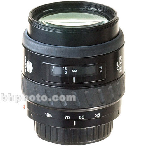 Konica Minolta Zoom Wide Angle-Telephoto 35-105mm f/3.5-4.5 N Autofocus Lens