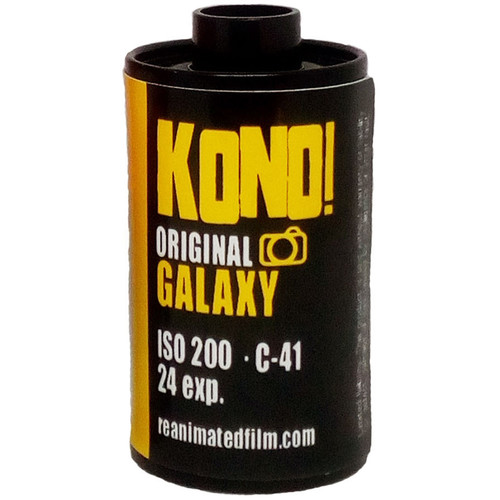 KONO ORIGINAL GALAXY 200 Color Negative Film (35mm Roll Film, 24 Exposures)