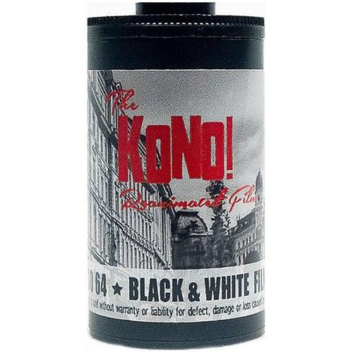 KONO MONOLIT 64 Black & White Negative Film (35mm Roll Film, 24 Exposures)