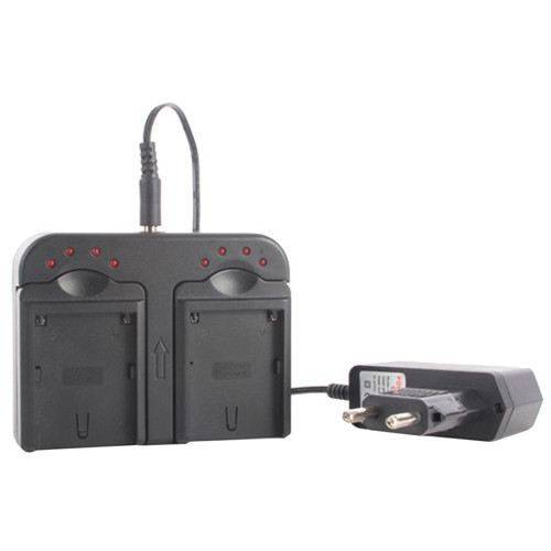 Konova BLS-NP Dual Charger for Sony L-Series Batteries