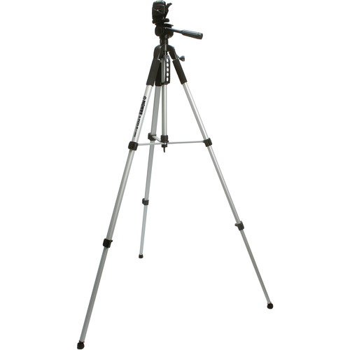 Konus 1956 Aluminum Tripod with 3-Way Pan/Tilt Head