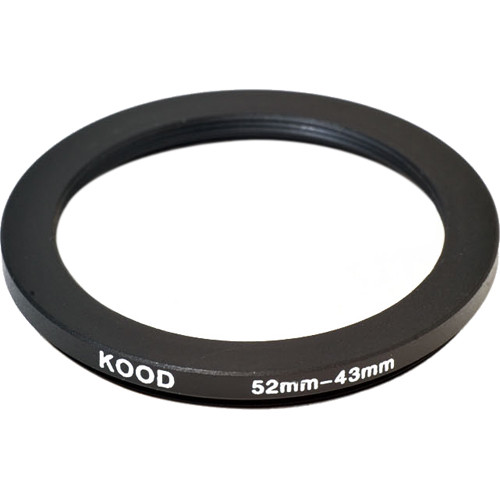 Kood 52-43mm Step-Down Ring