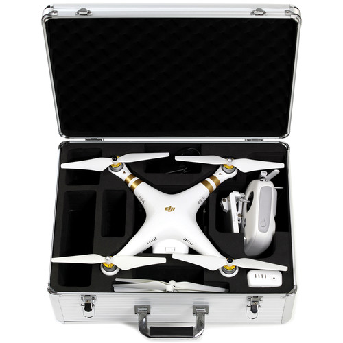 Koozam Aluminum Hard Case for DJI Phantom / Phantom 2 / Phantom 3 (Silver)