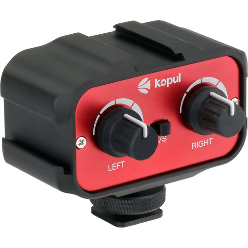 Kopul CMX-1-V2 Two-Channel Mini Mixer with Shoe Bracket