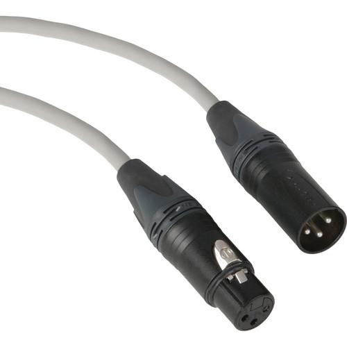 Kopul Premium Performance 3000 Series XLR M to XLR F Microphone Cable - 100' (30.5 m), Gray