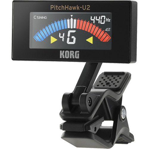 Korg PitchHawk U2 Clip-On Tuner for Ukulele
