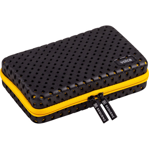 Korg CC-Volca Soft Case for Single Volca Synthesizer (Yellow/Black)