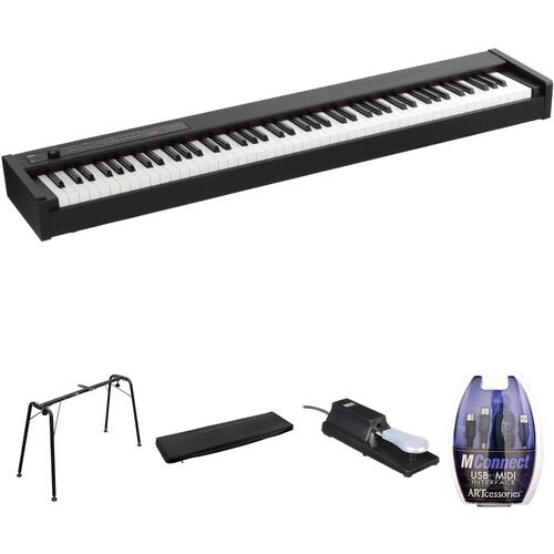 Korg D1 88-Key Digital Stage Piano and Home/Studio Kit