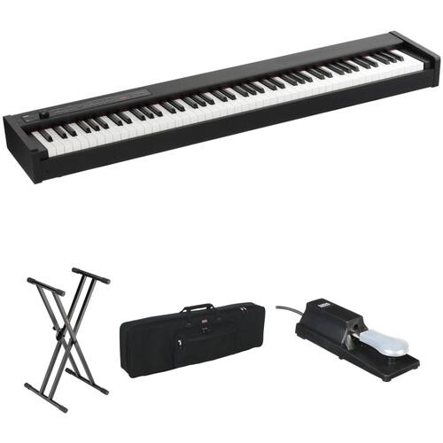 Korg D1 88-Key Digital Stage Piano and Bundle Kit