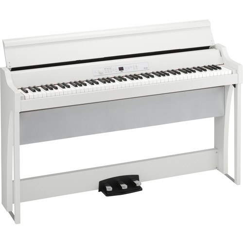 Korg G1AIRWH G1 Air Digital Piano with Bluetooth (White)