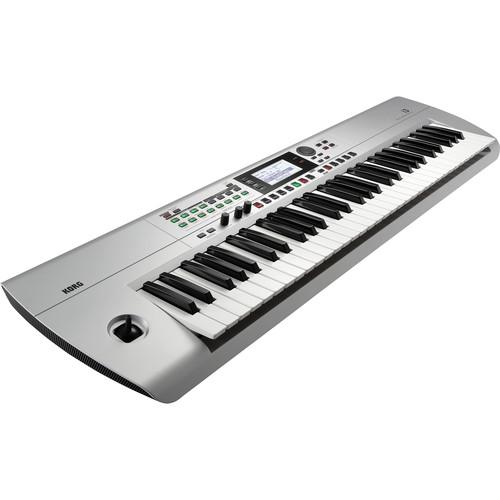 Korg i3 61-Key Music Workstation (Silver)