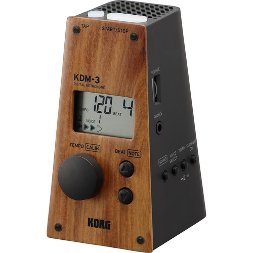 Korg KDM-3 Digital Metronome Limited Edition (Wooden Black)