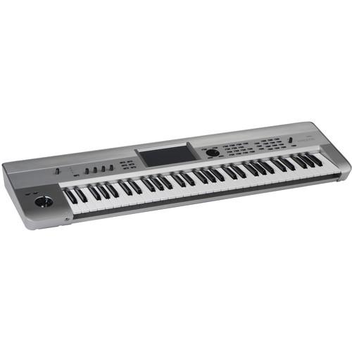 Korg Krome 61-Key Music Workstation (Limited-Edition Platinum)