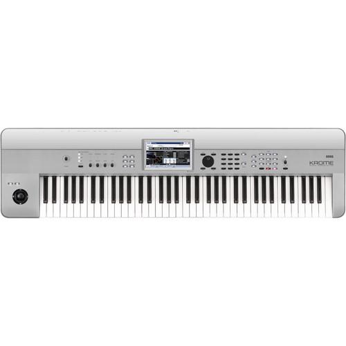 Korg Krome 73-Key Music Workstation (Limited-Edition Platinum)