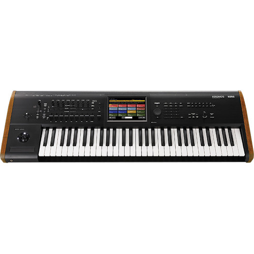 Korg Kronos 61 - Music Workstation with SGX-2 Engine (Black)