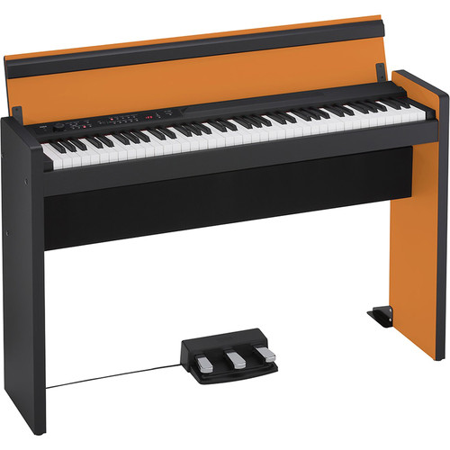 Korg LP-380 73-Key Digital Piano (Orange/Black)