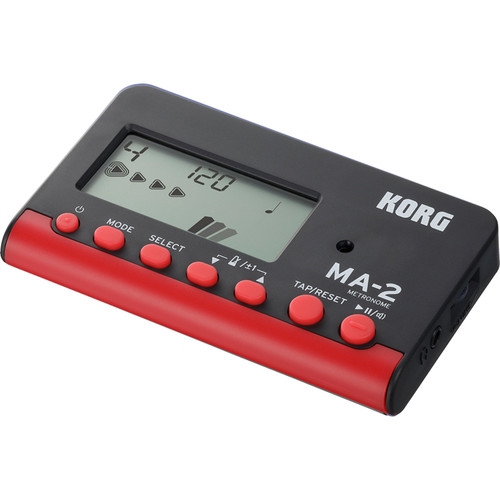 Korg MA-2 Digital Metronome (Red)