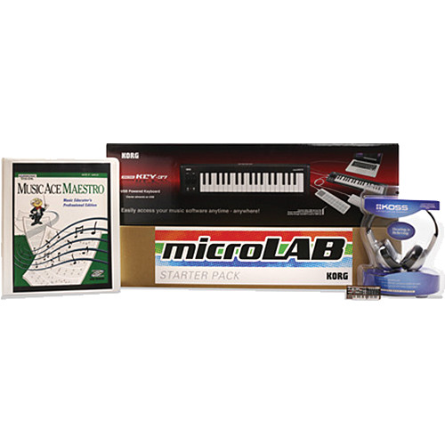 Korg microLab Networked Plus Bundle