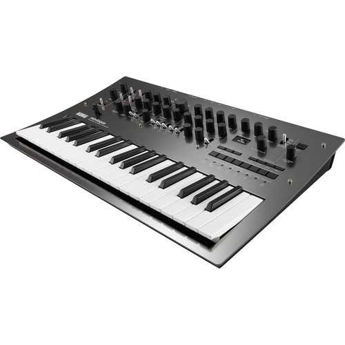 Korg Minilogue PG Polyphonic Analog Synthesizer (Limited-Edition, Polished-Gray)