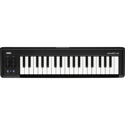 Korg microKEY AIR-37 Bluetooth Midi Keyboard Controller