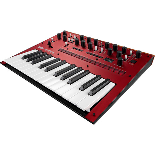 Korg Monologue Monophonic Analog Synthesizer (Red)
