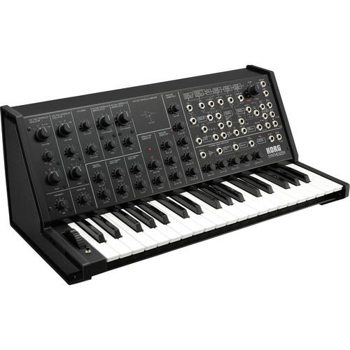 Korg - MS-20 FS Monophonic Analog Synthesizer (Black)