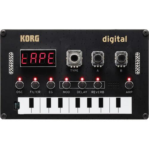 Korg Nu:Tekt NTS-1 Digital Kit DIY Programmable Synthesizer