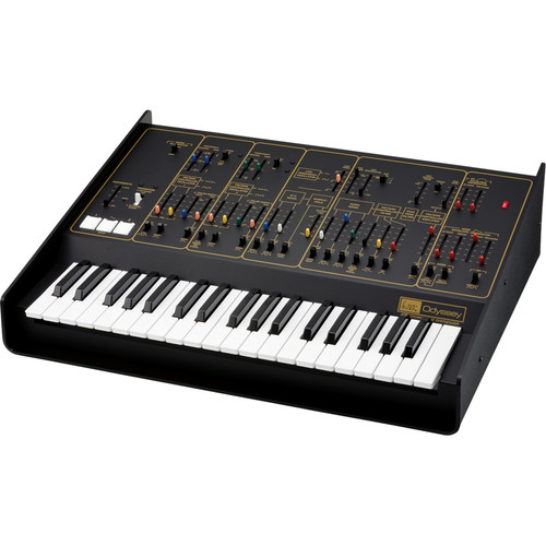 Korg ARP Odyssey FS Analog Synthesizer with Full-Sized Keys (Black/Gold)
