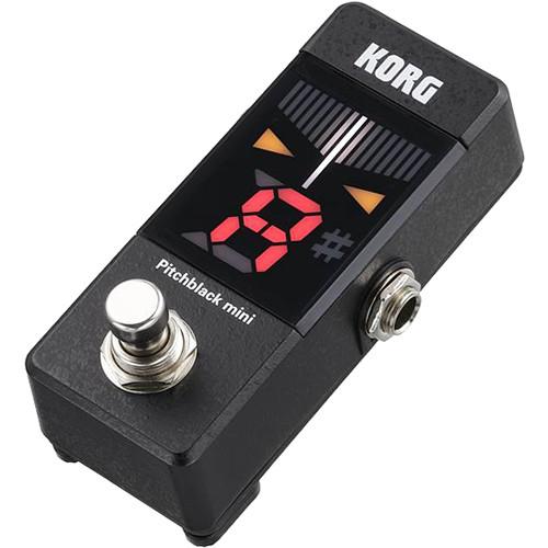 Korg Pitchblack Mini Pedal Tuner (Black)