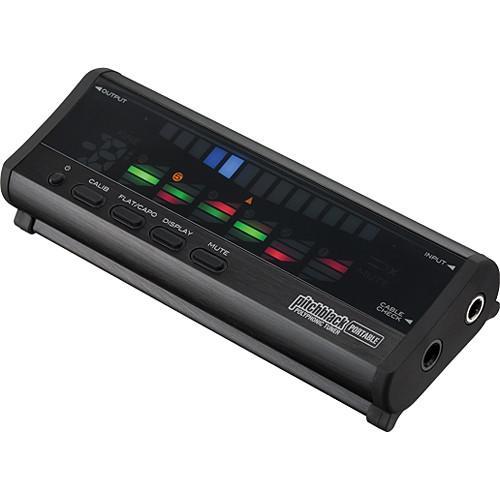 Korg Pitchblack Portable Polyphonic Tuner (Black)
