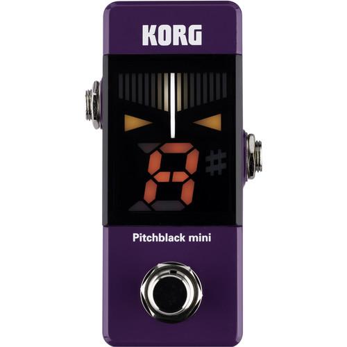 Korg Pitchblack Mini Pedal Tuner (Limited Edition Purple)